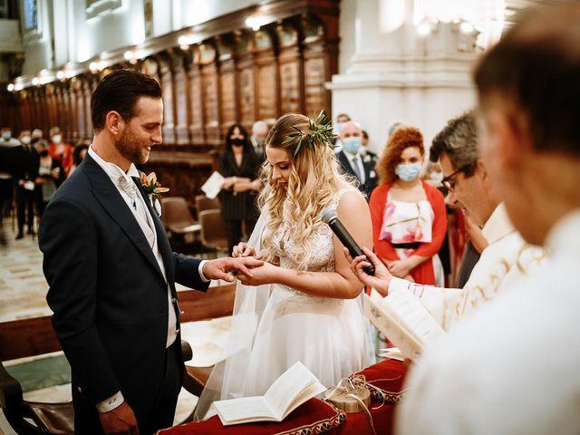 Il matrimonio di Marcello e Chiara a Buonconvento, Siena 46