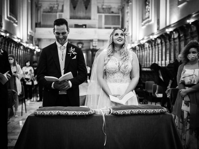 Il matrimonio di Marcello e Chiara a Buonconvento, Siena 47