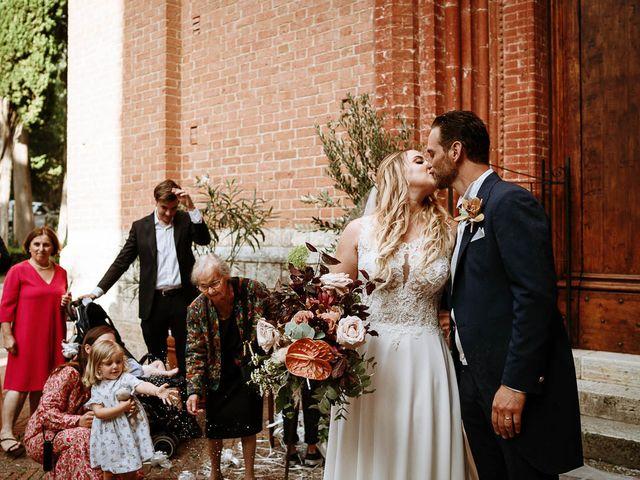 Il matrimonio di Marcello e Chiara a Buonconvento, Siena 49
