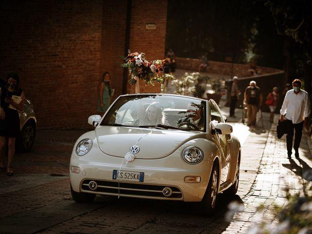 Il matrimonio di Marcello e Chiara a Buonconvento, Siena 54