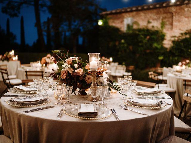 Il matrimonio di Marcello e Chiara a Buonconvento, Siena 55