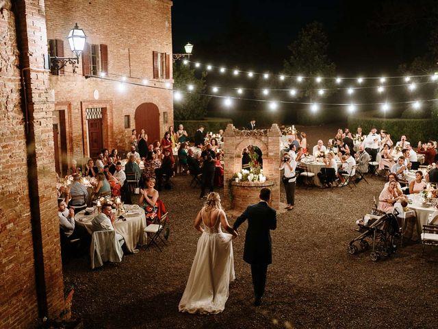 Il matrimonio di Marcello e Chiara a Buonconvento, Siena 57