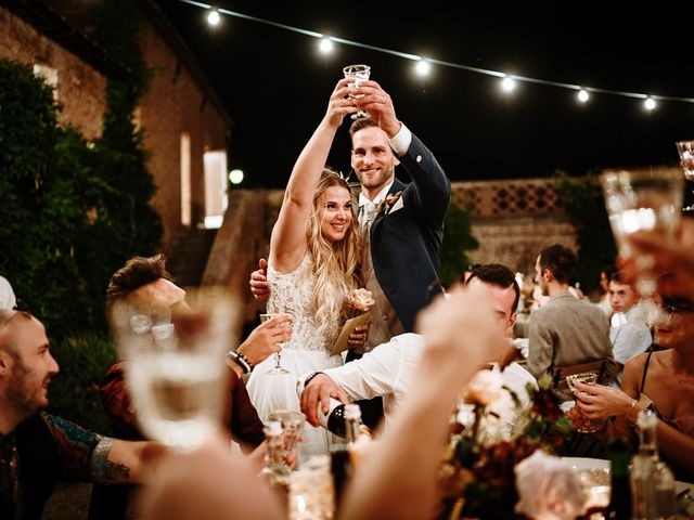 Il matrimonio di Marcello e Chiara a Buonconvento, Siena 58