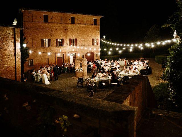 Il matrimonio di Marcello e Chiara a Buonconvento, Siena 59