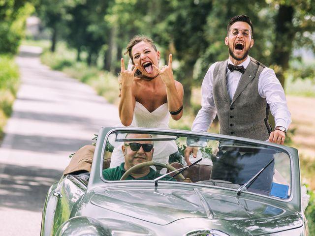 le nozze di Ylenia e Domenico