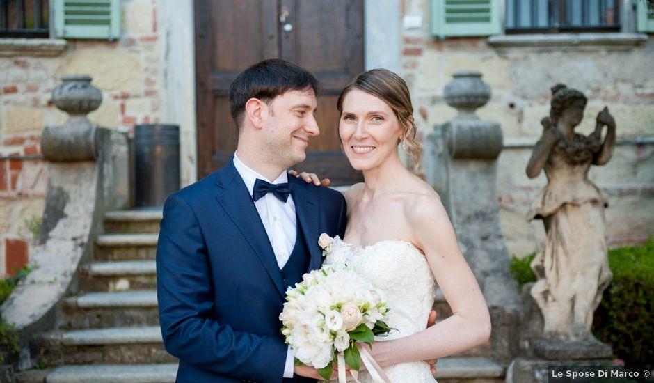 Il matrimonio di Alberto e Elisa a Frassineto Po, Alessandria