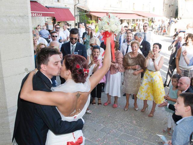 Il matrimonio di Emanuel e Claudia a San Marino, San Marino 42