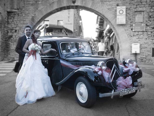 Il matrimonio di Emanuel e Claudia a San Marino, San Marino 61