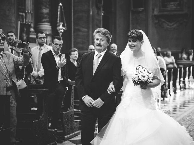 Il matrimonio di Manuel e Elisa a Villa d'Almè, Bergamo 13