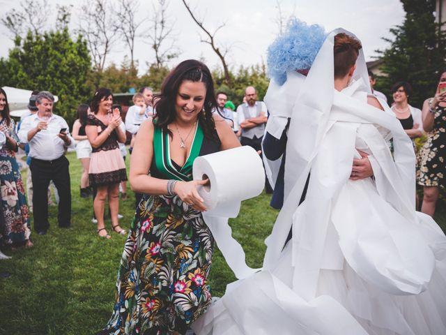 Il matrimonio di Manuel e Elisa a Villa d'Almè, Bergamo 49