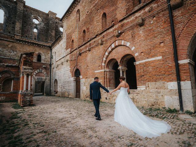 Il matrimonio di Andrea e Serena a Chiusdino, Siena 9