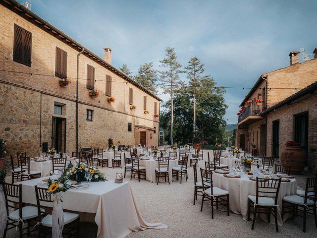 Il matrimonio di Andrea e Serena a Chiusdino, Siena 10