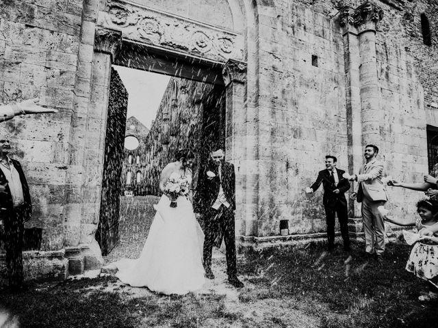 Il matrimonio di Andrea e Serena a Chiusdino, Siena 14