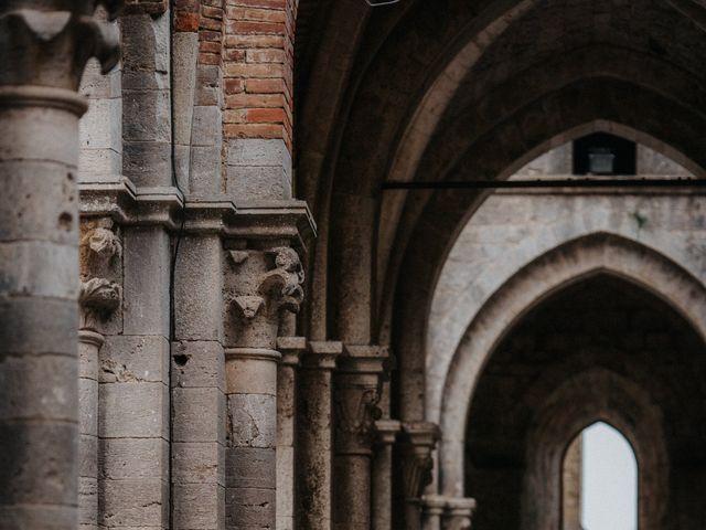 Il matrimonio di Andrea e Serena a Chiusdino, Siena 17