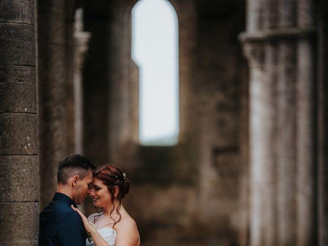 Il matrimonio di Andrea e Serena a Chiusdino, Siena 18