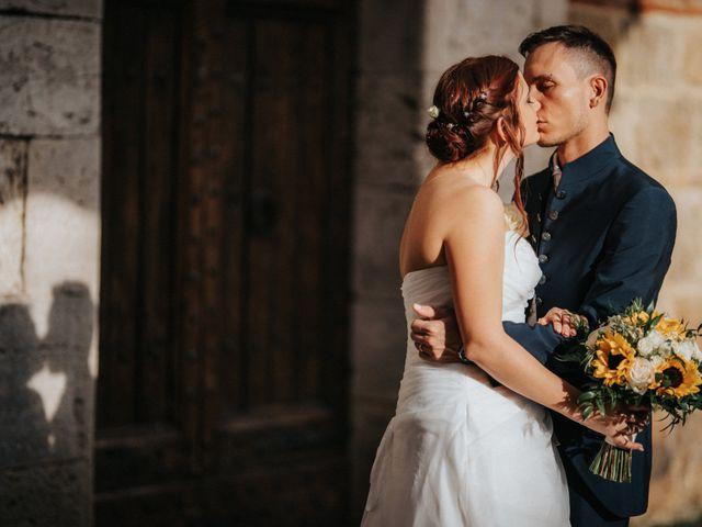 Il matrimonio di Andrea e Serena a Chiusdino, Siena 20