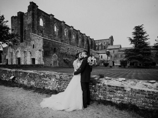Il matrimonio di Andrea e Serena a Chiusdino, Siena 21