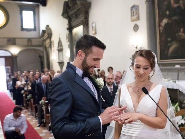 Il matrimonio di Marco e Valentina a Signa, Firenze 17