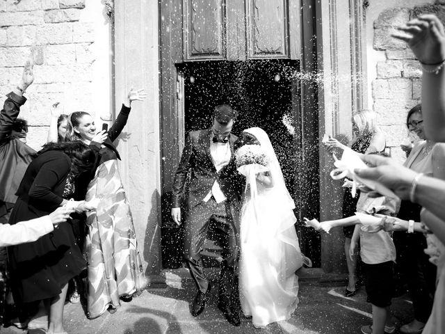 Il matrimonio di Marco e Valentina a Signa, Firenze 1