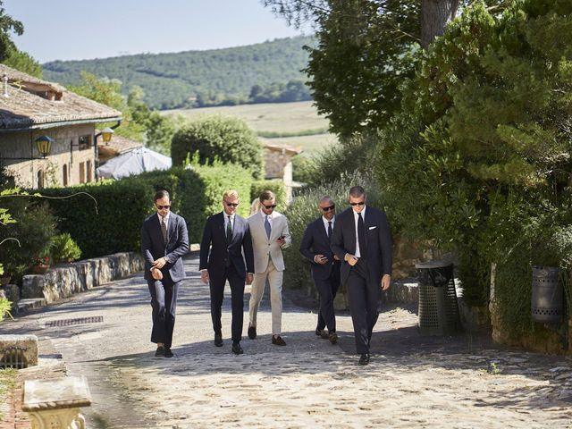 Il matrimonio di Eleonor e Wisam a Sovicille, Siena 26