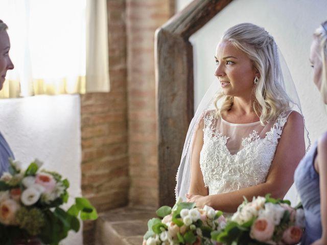 Il matrimonio di Eleonor e Wisam a Sovicille, Siena 40