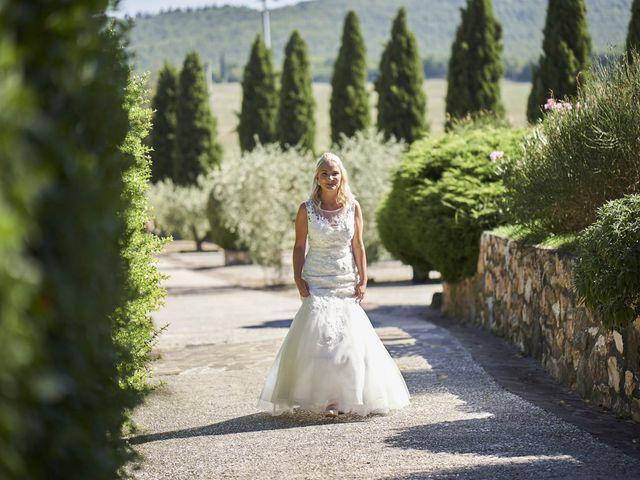Il matrimonio di Eleonor e Wisam a Sovicille, Siena 47