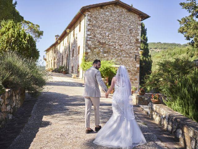 Il matrimonio di Eleonor e Wisam a Sovicille, Siena 62