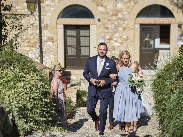 Il matrimonio di Eleonor e Wisam a Sovicille, Siena 63