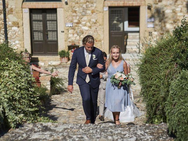 Il matrimonio di Eleonor e Wisam a Sovicille, Siena 65