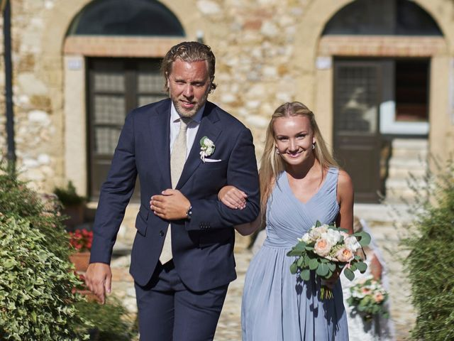 Il matrimonio di Eleonor e Wisam a Sovicille, Siena 66