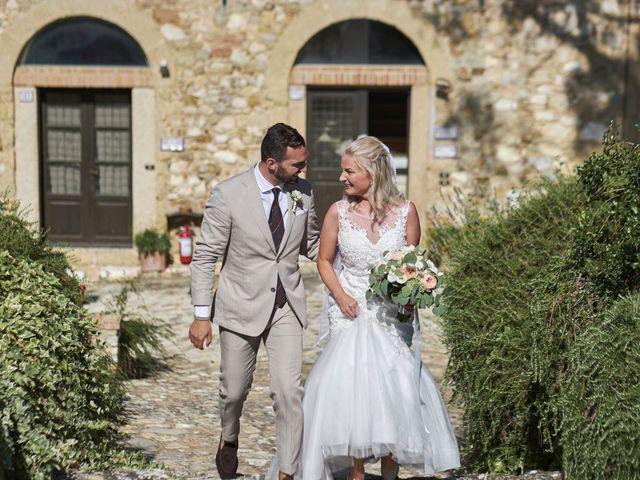 Il matrimonio di Eleonor e Wisam a Sovicille, Siena 70