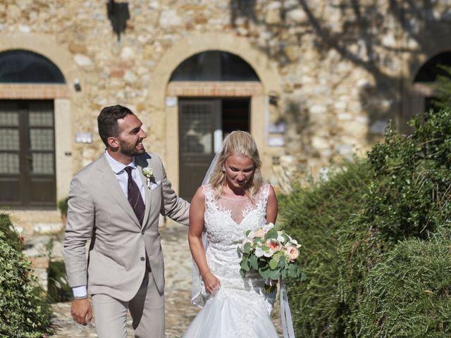 Il matrimonio di Eleonor e Wisam a Sovicille, Siena 72