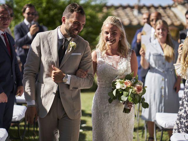 Il matrimonio di Eleonor e Wisam a Sovicille, Siena 76