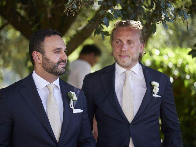 Il matrimonio di Eleonor e Wisam a Sovicille, Siena 79