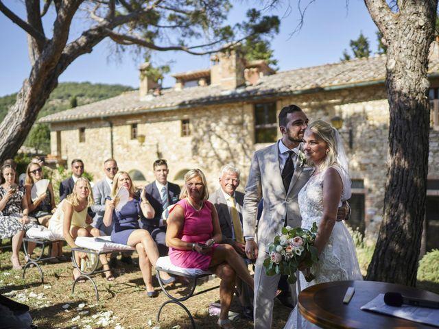 Il matrimonio di Eleonor e Wisam a Sovicille, Siena 84