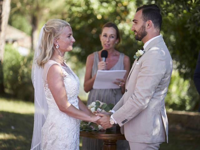 Il matrimonio di Eleonor e Wisam a Sovicille, Siena 91