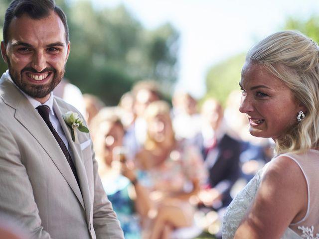 Il matrimonio di Eleonor e Wisam a Sovicille, Siena 93