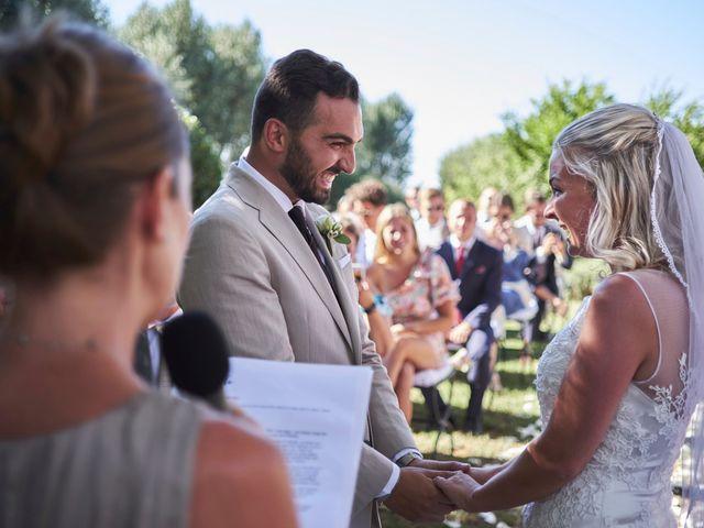 Il matrimonio di Eleonor e Wisam a Sovicille, Siena 96