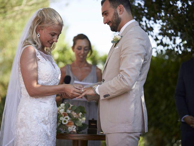 Il matrimonio di Eleonor e Wisam a Sovicille, Siena 98