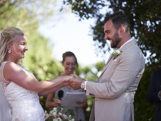 Il matrimonio di Eleonor e Wisam a Sovicille, Siena 102