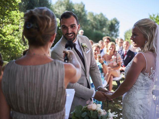 Il matrimonio di Eleonor e Wisam a Sovicille, Siena 104