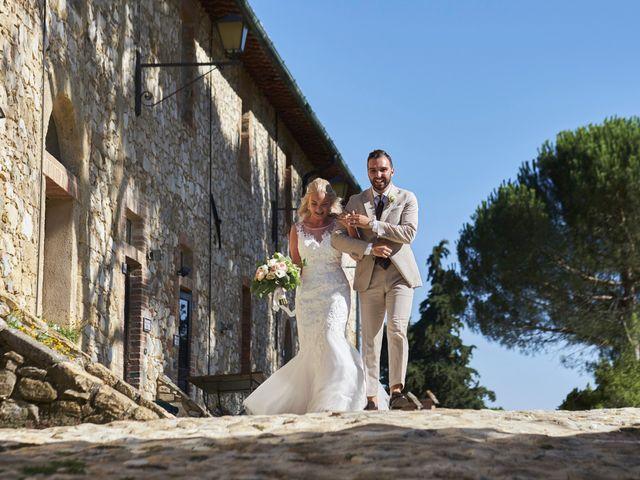 Il matrimonio di Eleonor e Wisam a Sovicille, Siena 115