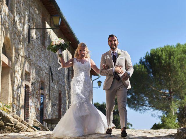 Il matrimonio di Eleonor e Wisam a Sovicille, Siena 116