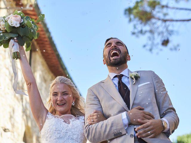 Il matrimonio di Eleonor e Wisam a Sovicille, Siena 117