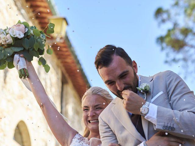 Il matrimonio di Eleonor e Wisam a Sovicille, Siena 118