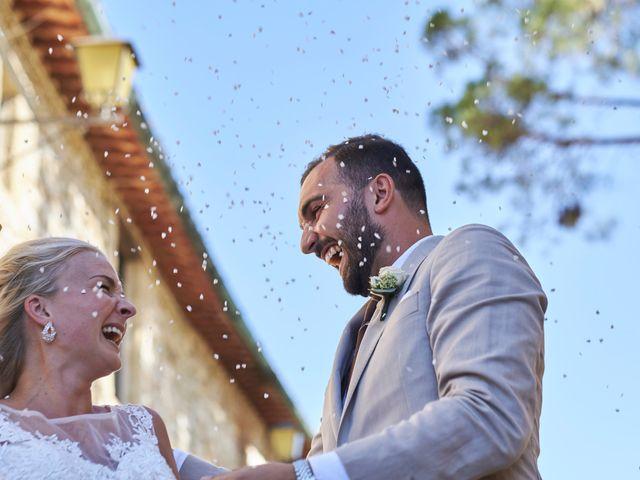 Il matrimonio di Eleonor e Wisam a Sovicille, Siena 119