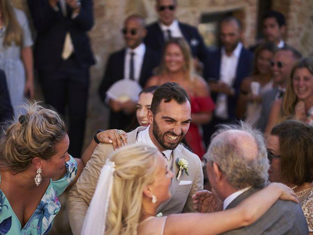 Il matrimonio di Eleonor e Wisam a Sovicille, Siena 121