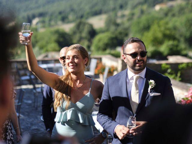 Il matrimonio di Eleonor e Wisam a Sovicille, Siena 126