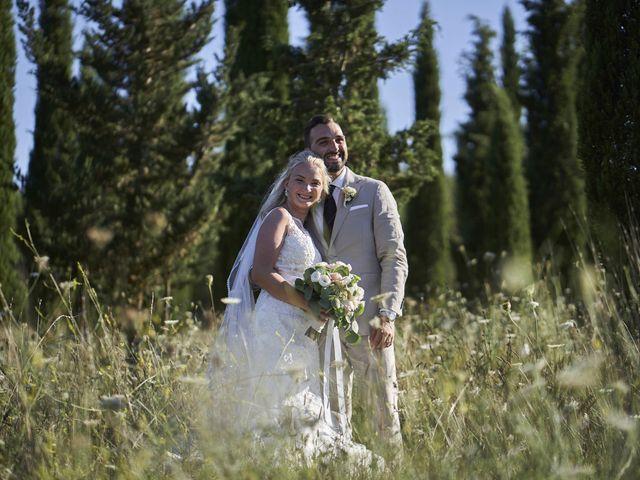 Il matrimonio di Eleonor e Wisam a Sovicille, Siena 136
