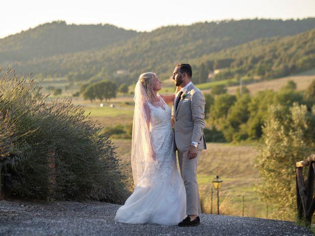 Il matrimonio di Eleonor e Wisam a Sovicille, Siena 162